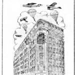 """Jornal """"O Povo"""" noticía a inauguração do Hotel Excelsior, em Fortaleza"""